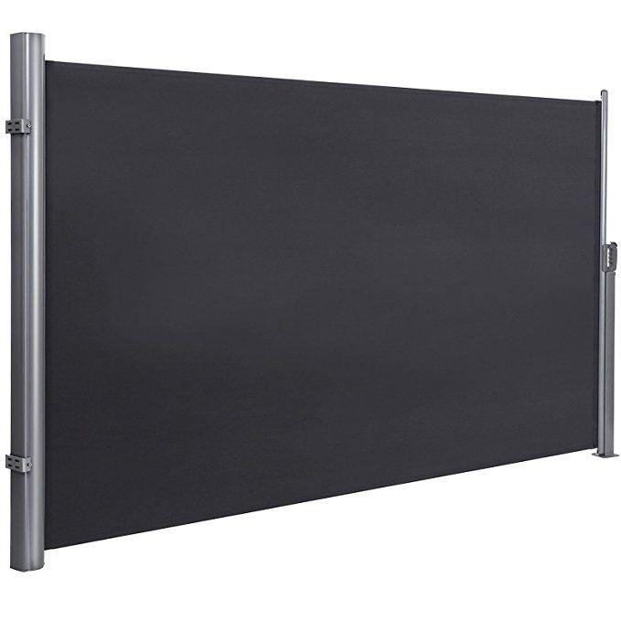 SONGMICS 200 x 350 cm (H x L), Seitenmarkise für Balkon