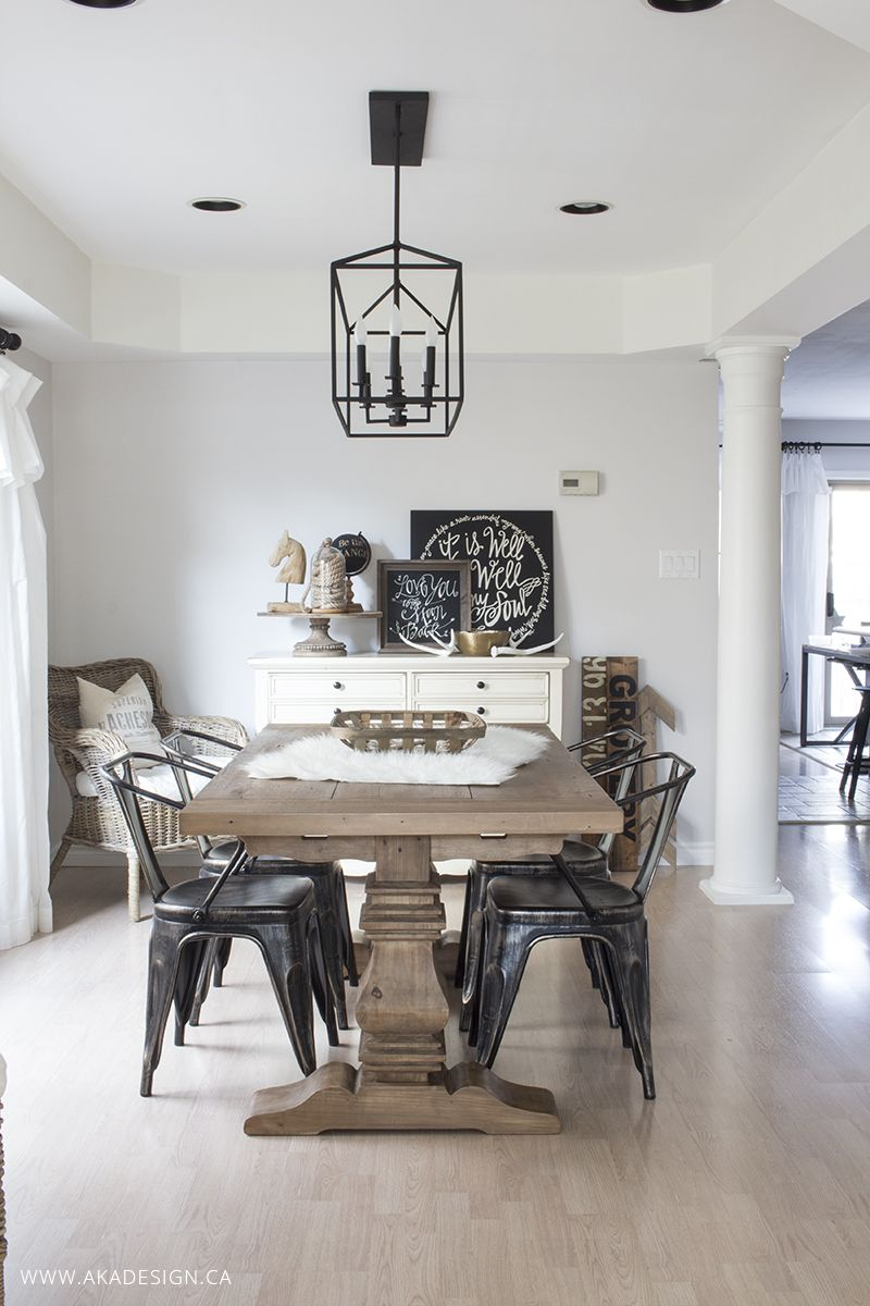 Monochromatic dining room dining rooms and simple