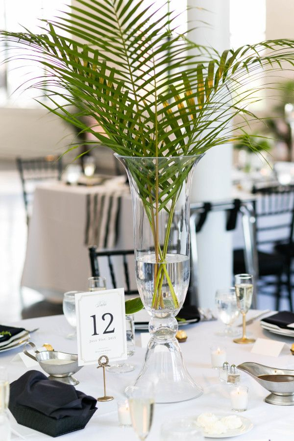 Are Palm Leaves The New Peony For This Chic Celebration