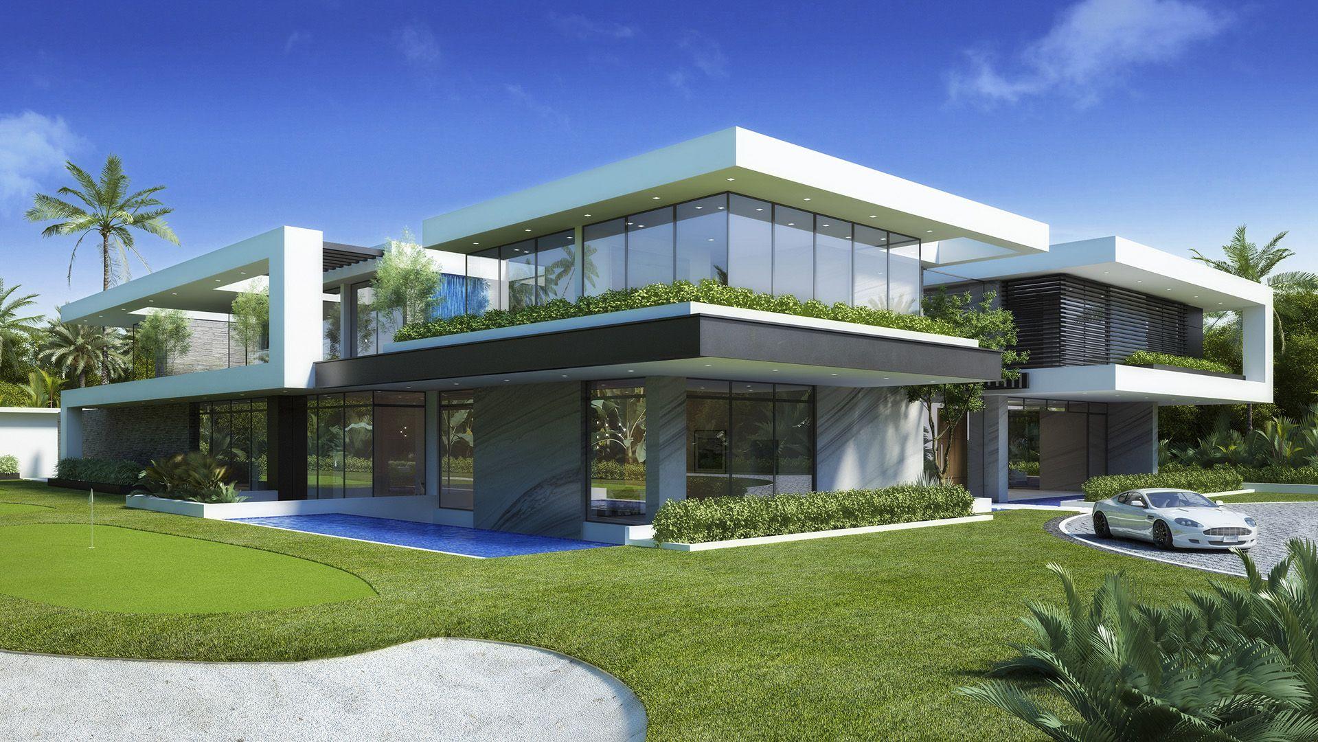 Vantage Design Group Rd Villa Casas En 2019 Maison Moderne