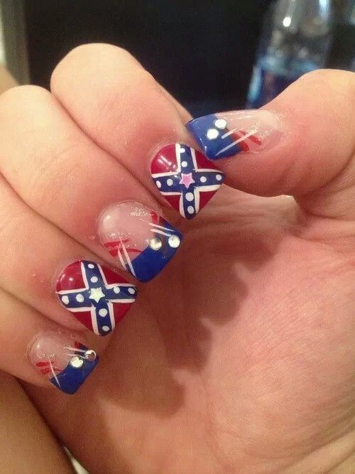 Rebel flag nail art graham reid rebel flag nail designs images nail art and nail design ideas camouflage nails design graham reid prinsesfo Image collections