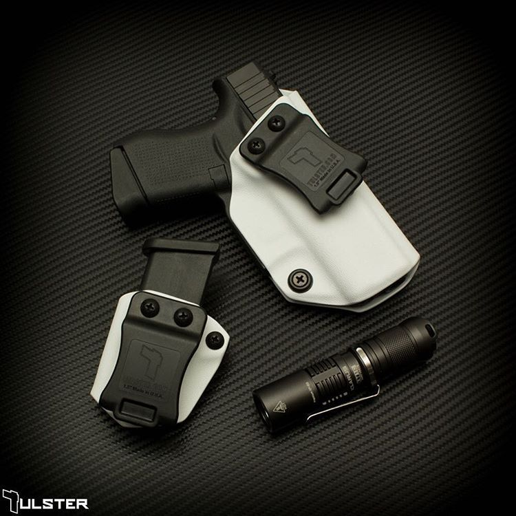 Glock 43 Profile holster and Echo mag carrier in Arctic