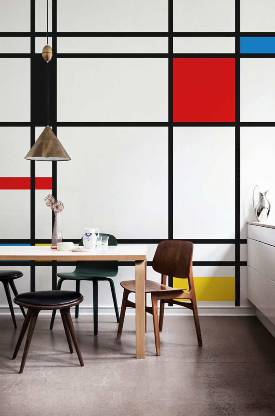 These 20 Mesmerizing Wall Murals Inspired By Masterpieces Will Teach ...