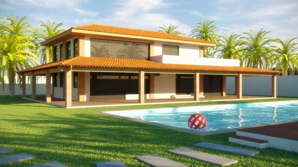 Projetos de casas de campo modernas casas de campo - Casas bonitas de campo ...