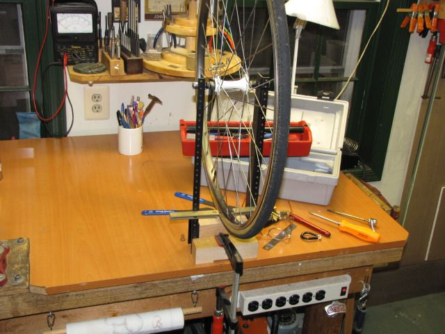 Diy Bicycle Wheel Truing Stand