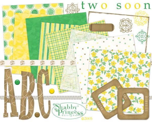 pretty spring papers