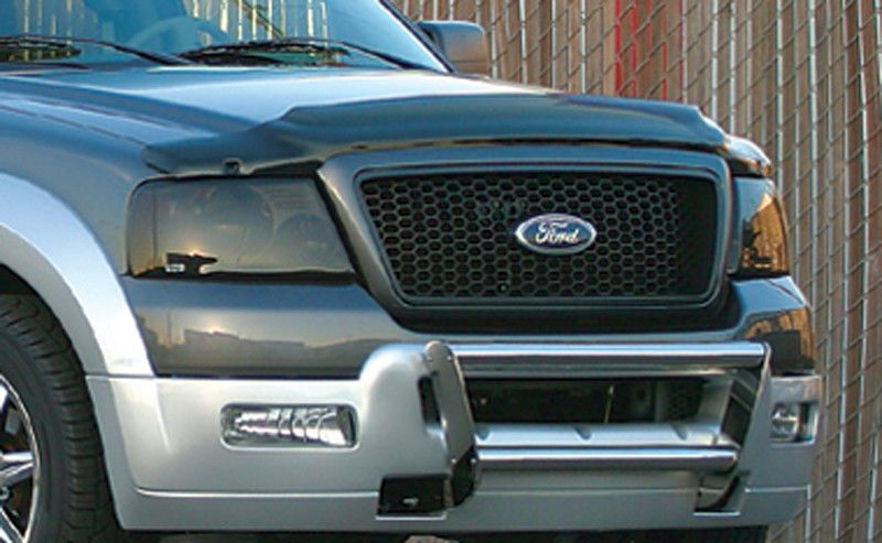 04 08 Ford F150 Smoke Gts Acrylic Headlight Covers Protection Pair New Gt0997s Headlight Covers Ford F150 Truck Accessories Ford