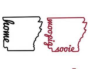 Download Home, Arkansas Razorbacks, Love, Woo Pig Sooie, SVG, DXF ...