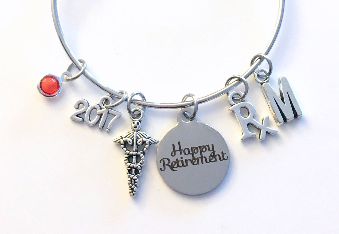 Retirement Gift For Pharmacist Pharmacy Technician Rx Tech Charm