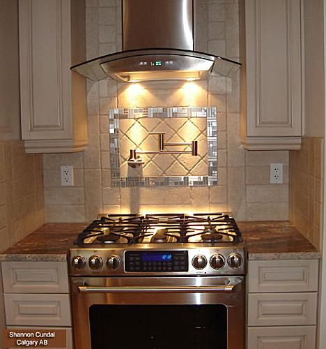 pictures of range hoods in a