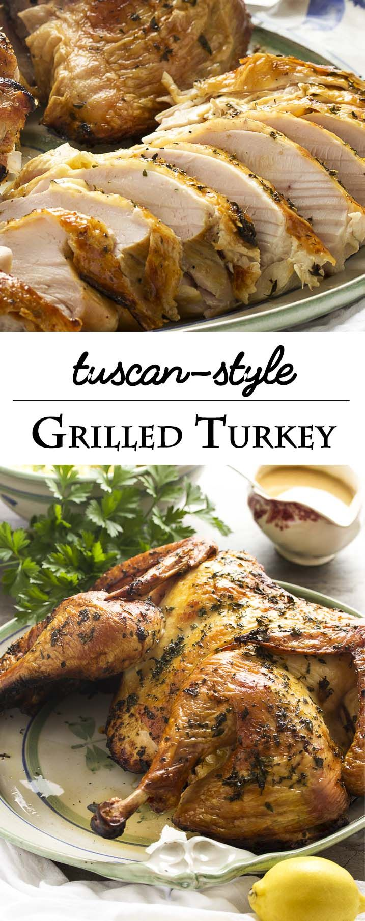 Photo of Grilled Tuscan Style Turkey – Just a Little Bit of Bacon