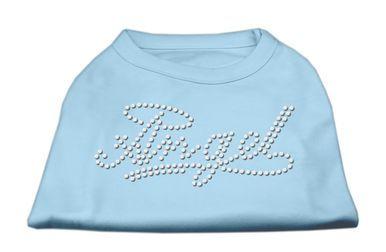Mirage Pet Dog Cat Indoor Oudoor Polyester Apparel Gift Travel Accessories Angel Rhinestud Shirt Baby Blue L (14)