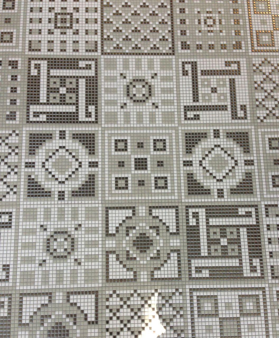 Cersaie Trend 7 Mosaic Appiani Design Milk Minecraft Minecraft Floor Designs Minecraft Banner Designs