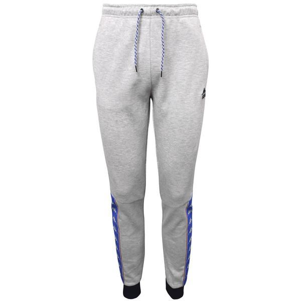 859cb45fb56e KAPPA AUTHENTIC JULIUS Slim Fit Athletic Track Pants SLIM FIT 86% Cotton  14% Polyester Pique Fleece Cord Draw String Waist Rib Hem Bottom Printed  Logo Tape ...