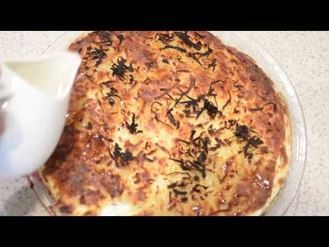 1 بسبوسة جوز هند بالقشطة كيتو حلويات كيتو Keto Dessert Youtube Food Banana Bread Desserts