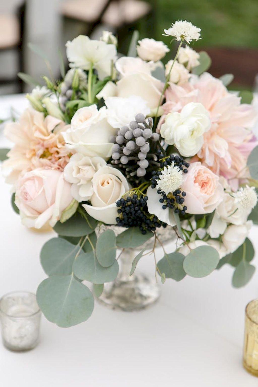 08 romantic white flower centerpiece decor ideas garden wedding rh pinterest com