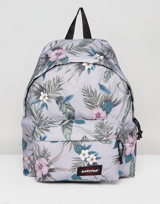 Pak Padded Gray Eastpak Floral Hawaiian In R Asos Print Backpack p5nHnxqU