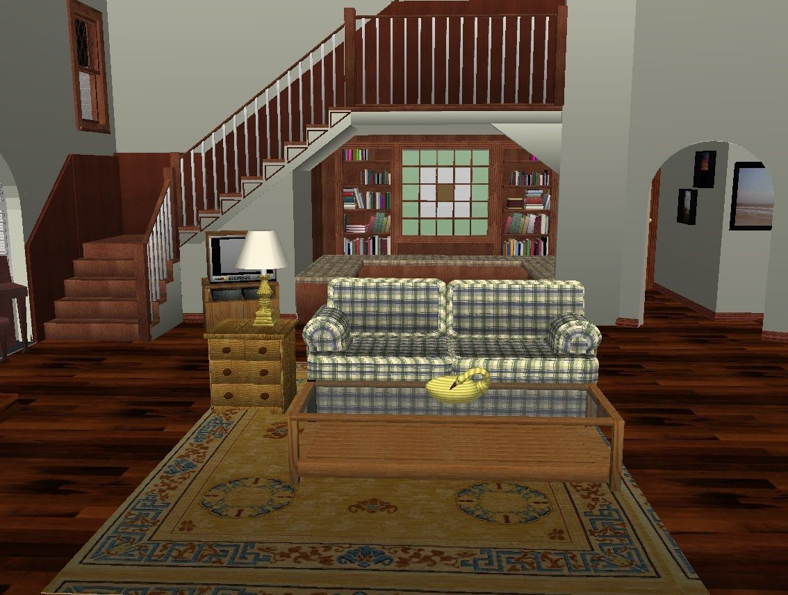 Full House Set Virtual Tour Stairs Architecture House Inside Stair Decor
