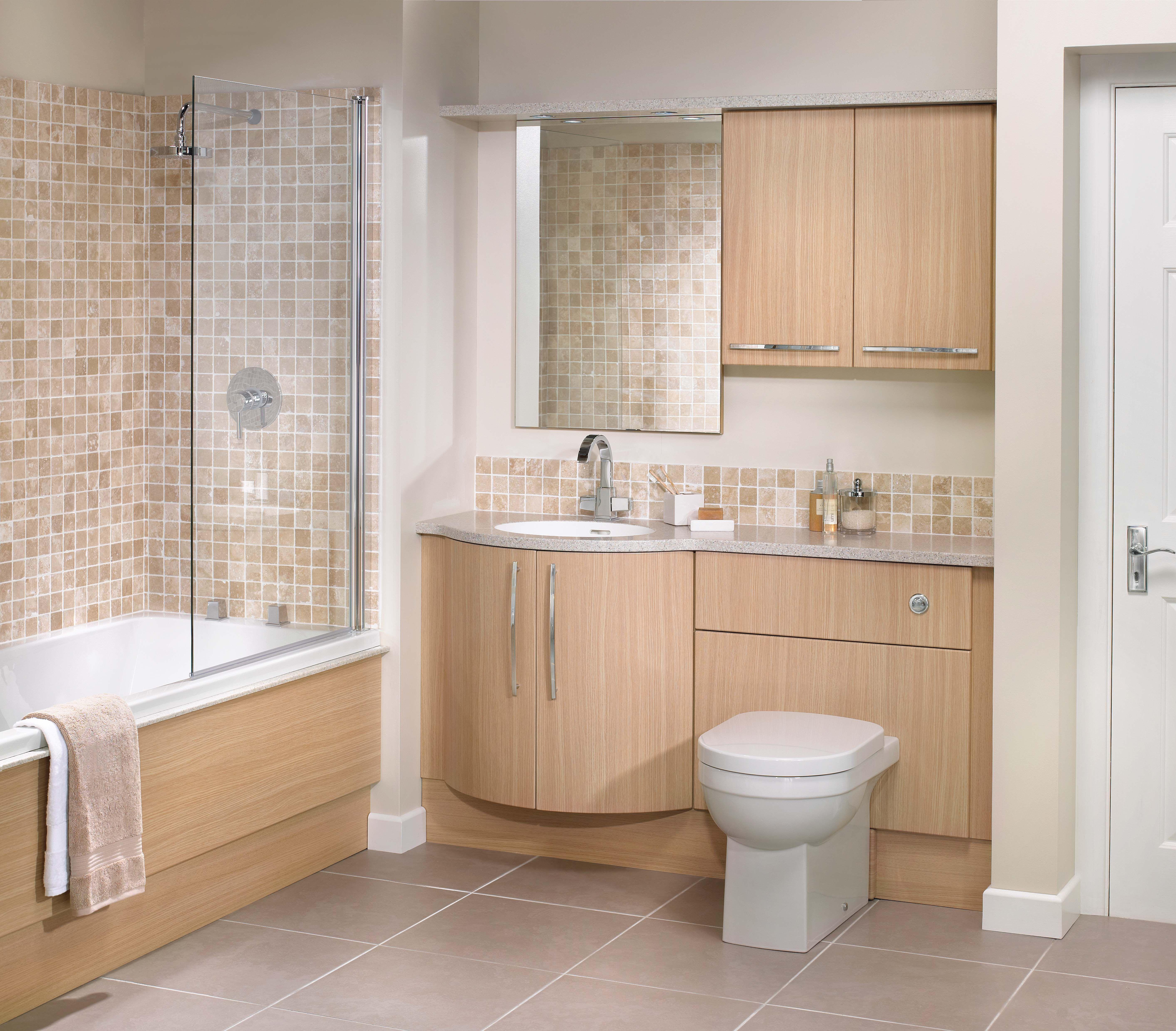 Great Bathrooms On A Budget Bathroom Budget Light Oak Click To Enlarge Launch Sli Bathroom Design Luxury Bathroom Vanity Designs Small Bathroom With Tub