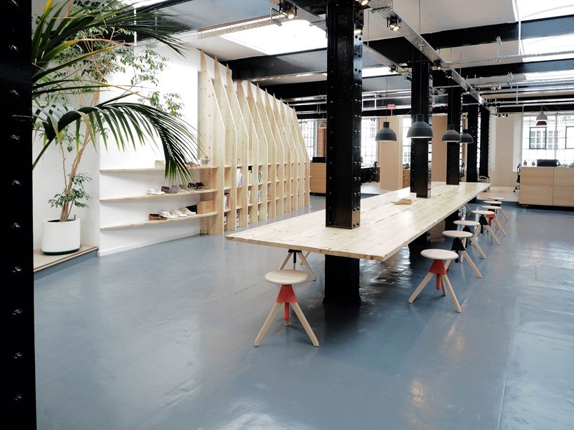 ee2fe101 ARRO fits out warehouse with clarks originals' design studio in ...