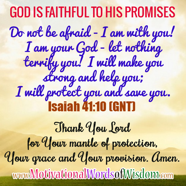 THANK YOU LORD FOR PROTECTING ME | Inspirational words of ... |Thanking Gods Wisdom Quote
