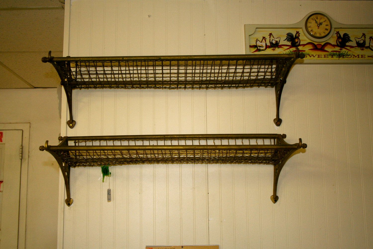 Antique Railroad Luggage Rack