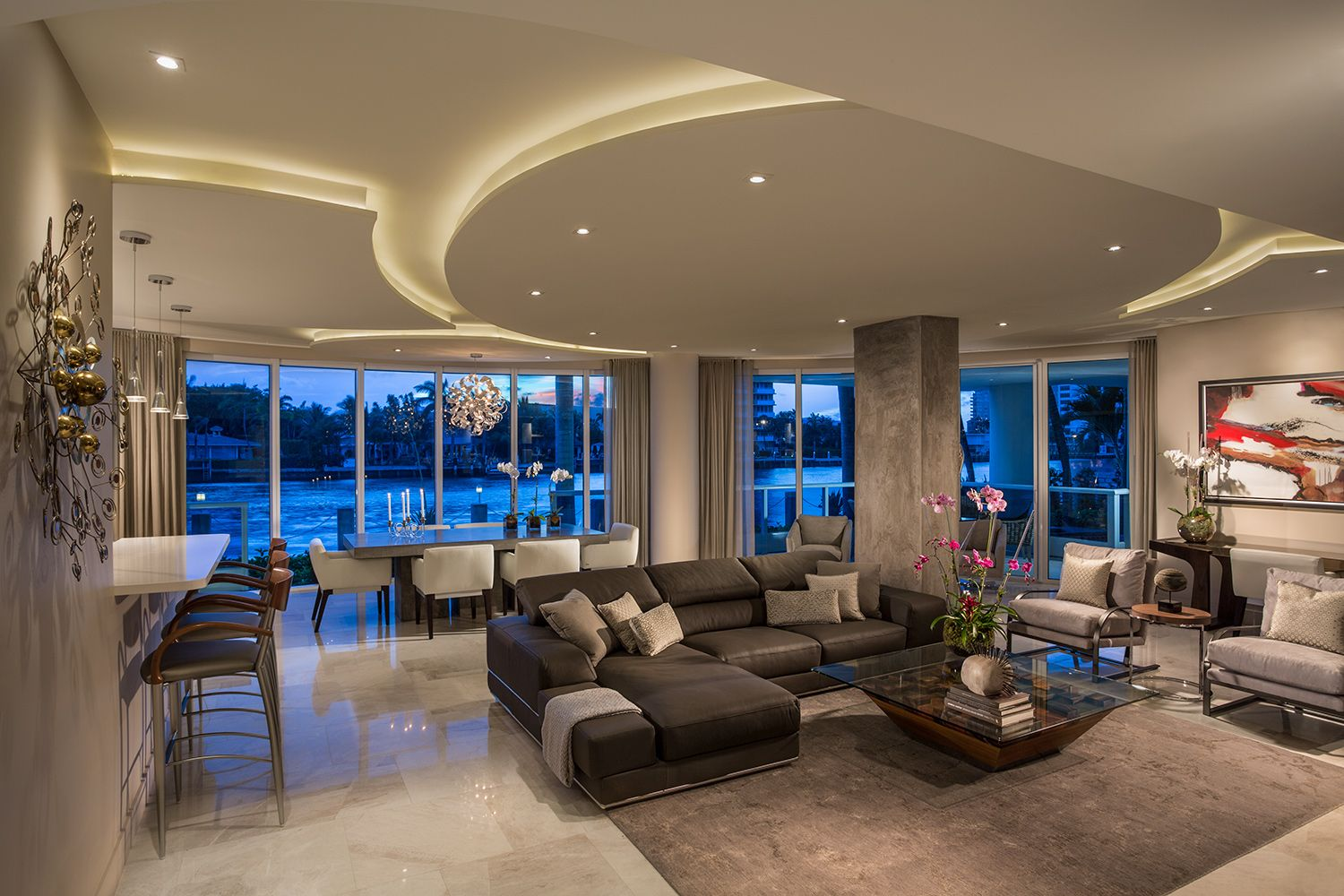 Fort Lauderdale Residence With Images Florida Interior Design Residential Design