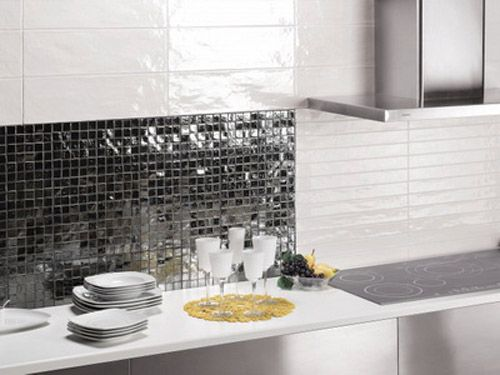 Gentil Mosaic Tiles And Modern Tile Designs In Patchwork Style Are One Of Top Ten  Trends 2012 In Kitchen Or Bathroom Decorating