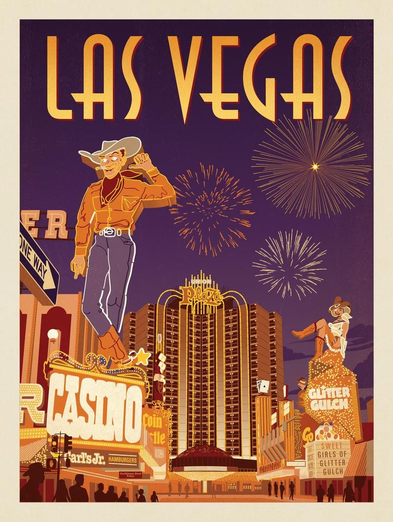 Anderson Design Group American Travel Las Vegas Viva Vintage