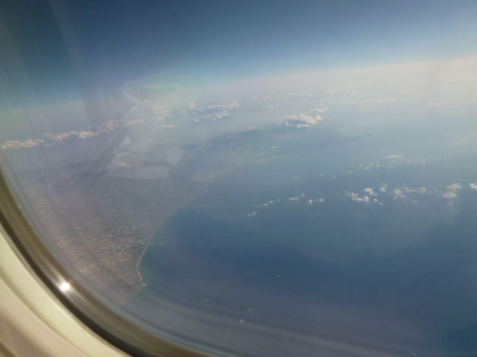 """Lufthansa"", Palermo→Frankfurt"