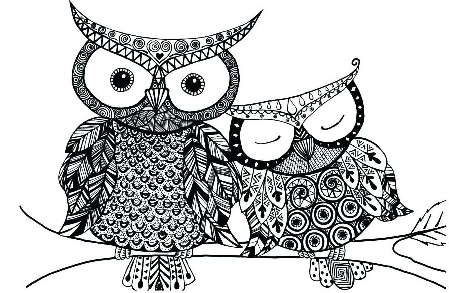 Owl Mandala Coloring Pages Free Printable Owl Mandala Coloring Pages Elf Delightful Decoration Owl Coloring Pages Bird Coloring Pages Animal Coloring Pages