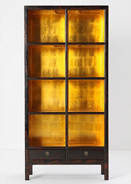 Bookcase Back Panel Ideas: Add a golden glow to your ...