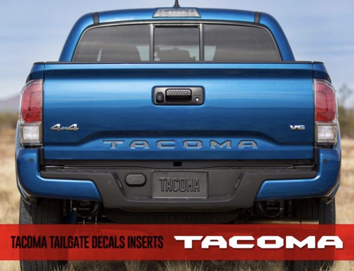 Pin de Cameron Kettman en Toyota Tacoma Decals | Pinterest