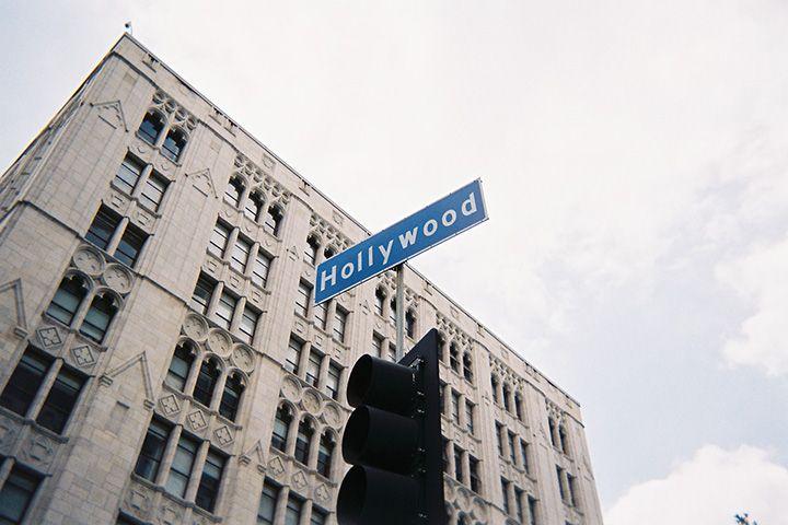 Hollywood!! すごーいすごーい いっぱい空気吸っちゃおう #写ルンです #写ルンですず #Signal Photo by Hirose Suzu
