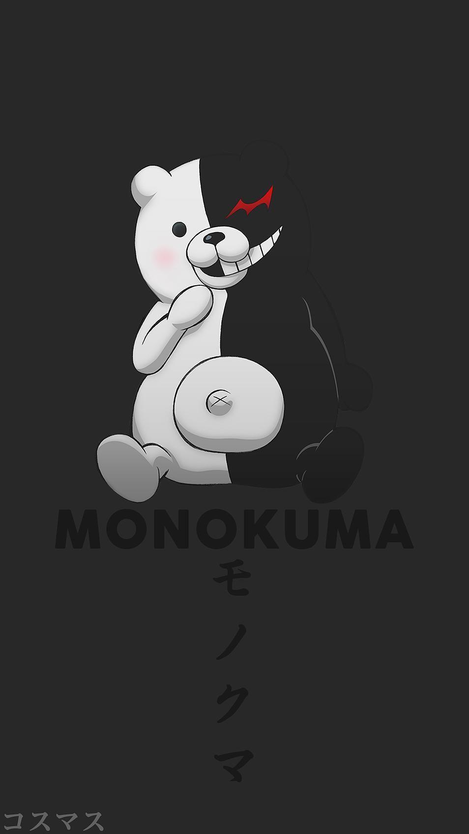 Pin By Shoto Midoriya On Monokuma In 2020 Anime Wallpaper Iphone Anime Wallpaper Phone Cute Anime Wallpaper