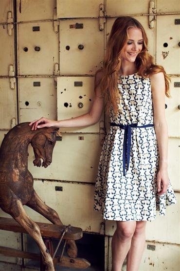 Orla Kiely Love Birds Sleeveless Dress £56.50