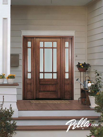 Greet Your Guests With Beautifully Crafted Pella Energy Star
