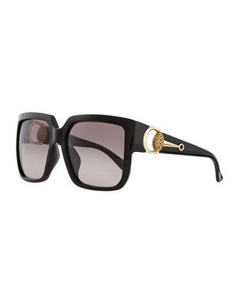 e905e38afc943 Diamantissima Square Sunglasses