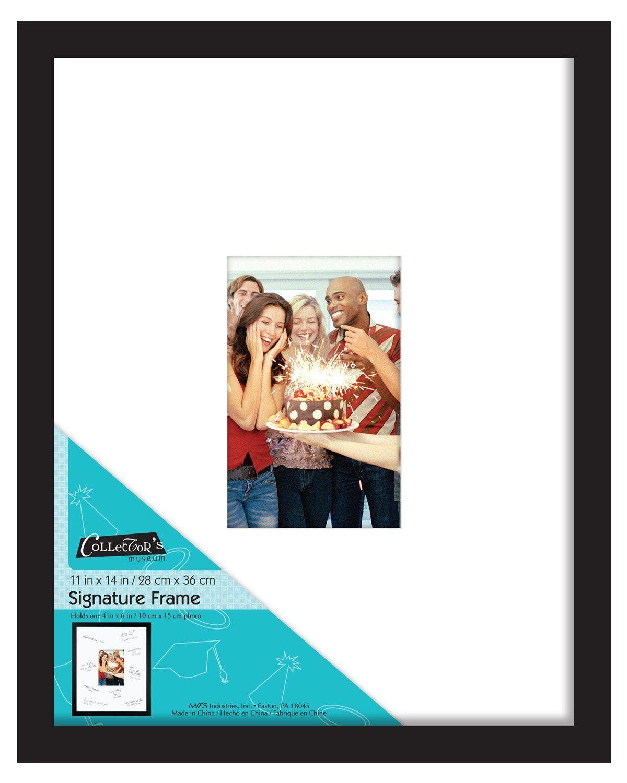 Amazon.com - MCS Signature 11x14 inch Autograph Frame - Signature ...