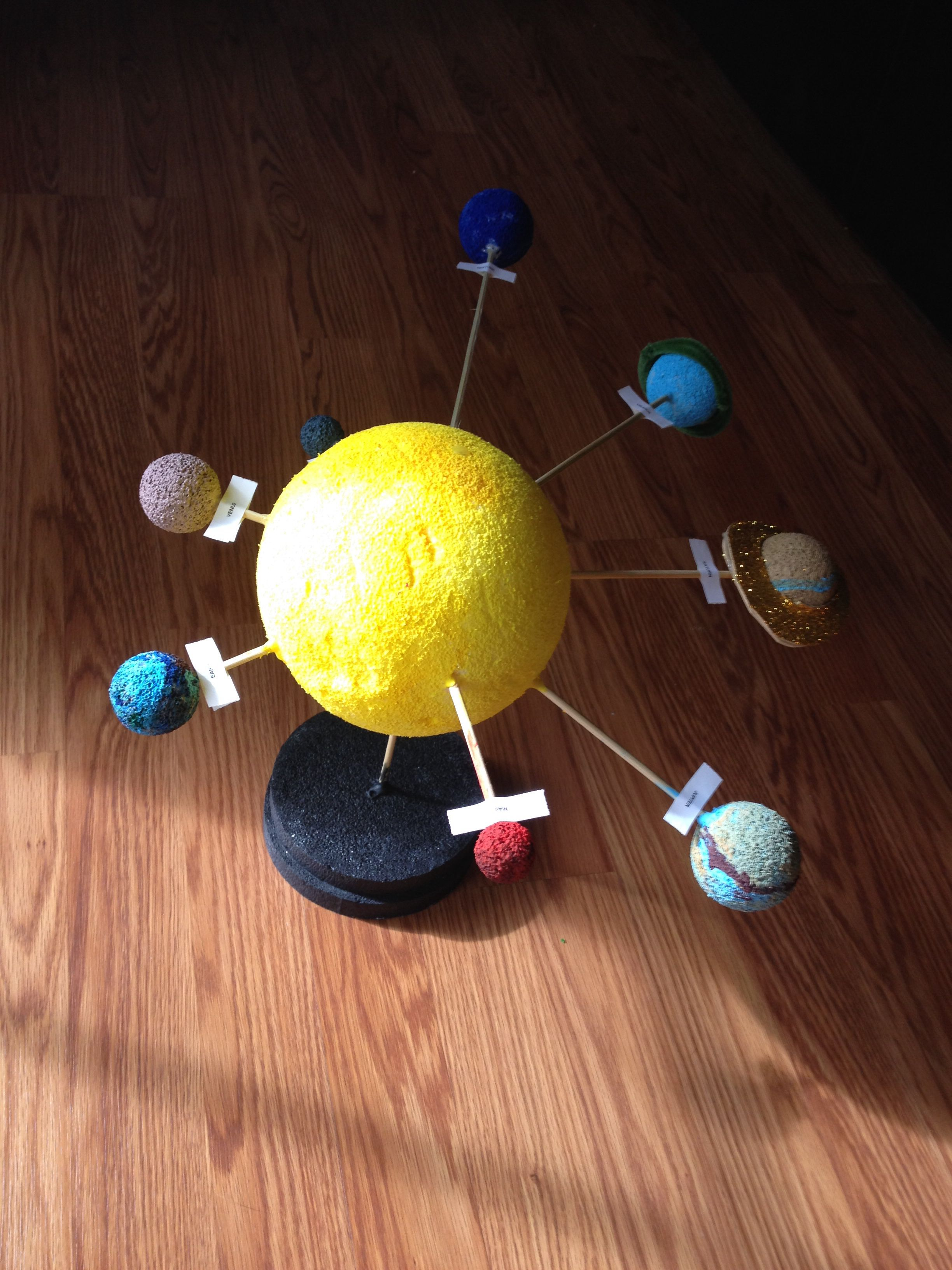 3d solar system school project - photo #26