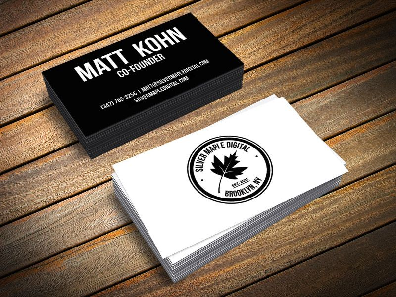 20 Minimalistic Business Card Designs For You To See | Visit cards ...