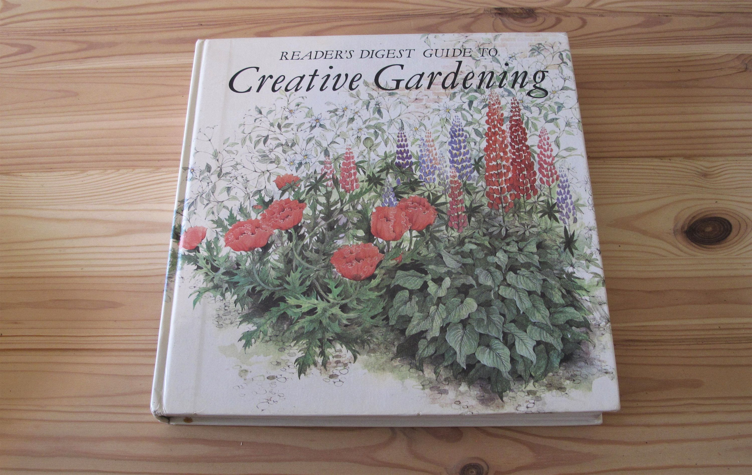 Vintage Readers Digest Guide To Creative Gardening Book Boho