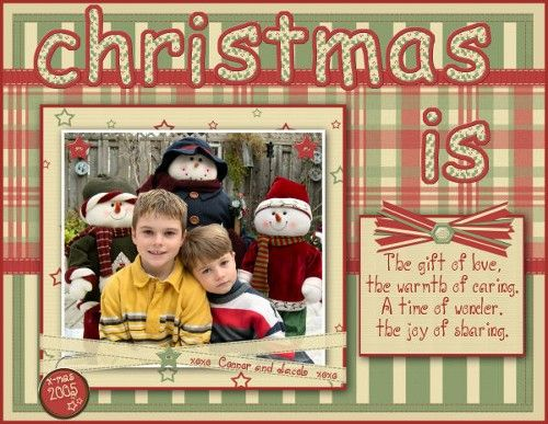 Scrapbooking Ideas For Quick Pages Christmas Scrapbook