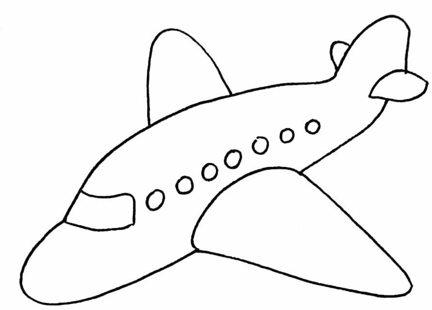 Avion dessin facile recherche google coloriage - Dessins avions ...