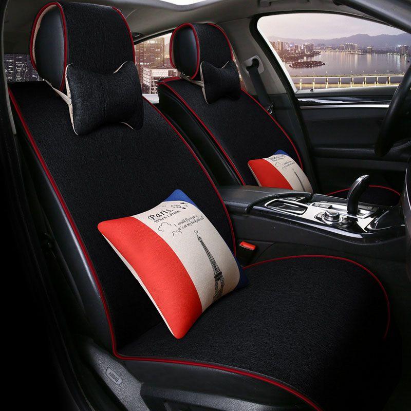 Car Seat Protector Cover For Mitsubishi Outlander 3 Xl Pajero V73 V93 V95 V97 2 3 4 Full Sport 2017 2016 2015 Car Seat Protector Interior Accessories Car Seats
