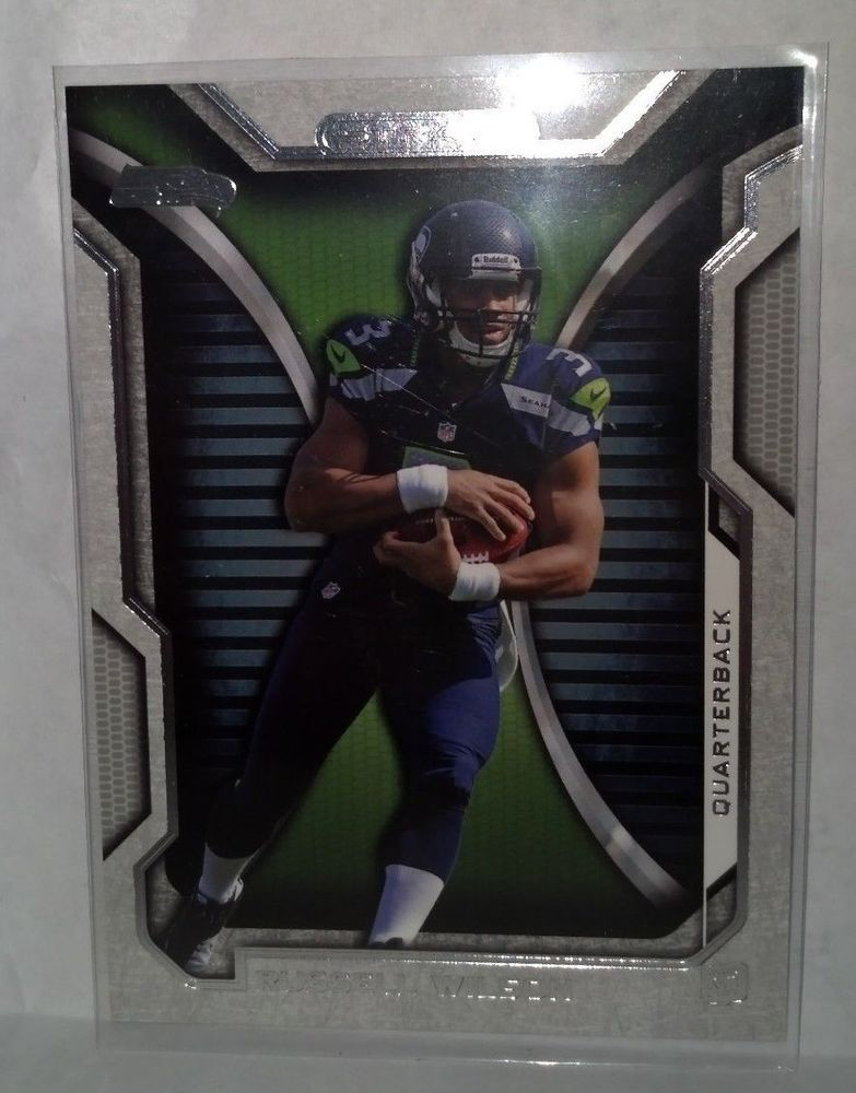 2012 topps strata 29 russell wilson rookie card team