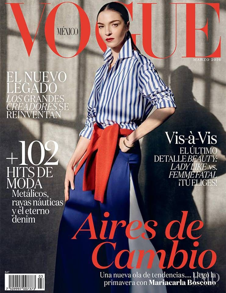 Covers of Vogue Mexico with Mariacarla Boscono, 000 2016 | Magazines | The FMD #lovefmd