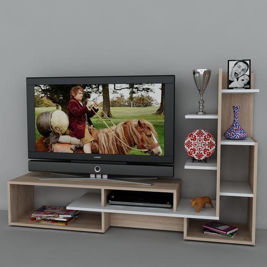 Moble TV Muebles de tv Pinterest Tv, Mueble tv y Modulares