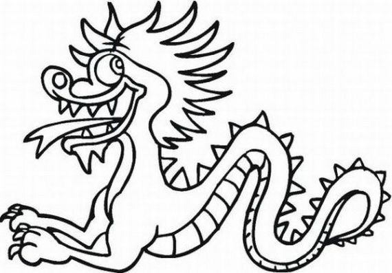 Dragon Boat Festival Coloring Pages 45