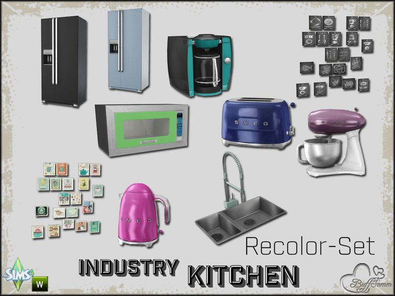 Sims 4 Cc Furniture Sets Kitchen